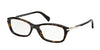 Prada CONCEPTUAL PR04PVA Cat Eye Eyeglasses  2AU1O1-HAVANA 54-17-135 - Color Map havana