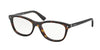 Prada PR05RV Cat Eye Eyeglasses  2AU1O1-HAVANA 53-17-140 - Color Map havana
