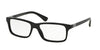 Prada HERITAGE PR06SVF Rectangle Eyeglasses  1AB1O1-BLACK 56-16-145 - Color Map black