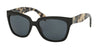 Prada PR07PS Square Sunglasses  1AB5Z1-BLACK 56-18-140 - Color Map black