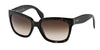 Prada PR07PS Square Sunglasses  2AU6S1-HAVANA 56-18-140 - Color Map brown