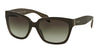 Prada PR07PS Square Sunglasses  UAM0A7-OPAL BROWN ON BROWN 56-18-140 - Color Map brown