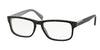 Prada 0PR 07PV PR07PV Rectangle Eyeglasses  KA51O1-TOP HAVANA/GRAY 56-17-145 - Color Map havana