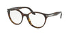 Prada PR07TV Phantos Eyeglasses  2AU1O1-HAVANA 52-19-140 - Color Map havana