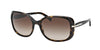 Prada CONCEPTUAL PR08OS Rectangle Sunglasses  2AU6S1-HAVANA 57-17-130 - Color Map havana