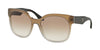 Prada CATWALK PR10RSF Irregular Sunglasses  UBJ1L0-GREY GRADIENT 57-19-140 - Color Map grey