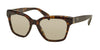 Prada PR11SSF Square Sunglasses  2AU5J2-HAVANA 56-18-145 - Color Map havana