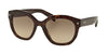 Prada PR12SS Irregular Sunglasses  2AU3D0-HAVANA 53-20-140 - Color Map havana