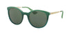 Prada CINEMA PR17SS Phantos Sunglasses  UFU3O1-GREEN GRADIENT 53-21-140 - Color Map green
