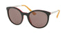 Prada CINEMA PR17SS Phantos Sunglasses  VH66X1-BLACK/PINK 53-21-140 - Color Map black