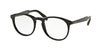 Prada PR19SVF Phantos Eyeglasses  1AB1O1-BLACK 50-20-140 - Color Map black