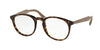 Prada PR19SVF Phantos Eyeglasses  2AU1O1-HAVANA 50-20-140 - Color Map havana
