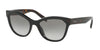 Prada PR21SSF Phantos Sunglasses  1AB0A7-BLACK 56-19-140 - Color Map black