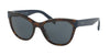 Prada PR21SSF Phantos Sunglasses  2AU2K1-HAVANA 56-19-140 - Color Map havana