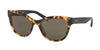 Prada PR21SSF Phantos Sunglasses  7S05S2-MEDIUM HAVANA 56-19-140 - Color Map havana