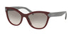 Prada PR21SSF Phantos Sunglasses  USH4K0-AMARANTH 56-19-140 - Color Map bordeaux