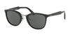 Prada PR22SS Phantos Sunglasses  1AB1A1-BLACK 52-23-145 - Color Map black