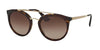Prada CATWALK PR23SS Phantos Sunglasses  2AU6S1-HAVANA 52-22-140 - Color Map havana