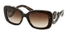 Prada MINIMAL BAROQUE PR27OS Rectangle Sunglasses  2AU6S1-HAVANA 54-19-135 - Color Map havana
