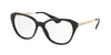 Prada CINEMA PR28SV Square Eyeglasses  1AB1O1-BLACK 54-16-140 - Color Map black