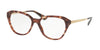 Prada CINEMA PR28SV Square Eyeglasses  UE01O1-PINK HAVANA 52-16-140 - Color Map pink