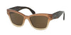 Prada PR29RS Butterfly Sunglasses  UBI8C1-BROWN GRADIENT 51-18-140 - Color Map brown
