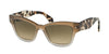 Prada PR29RS Butterfly Sunglasses  UBJ3D0-GREY GRADIENT 51-18-140 - Color Map grey