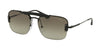 Prada CONCEPTUAL PR56VS Pillow Sunglasses  1AB5O2-BLACK 33-133-140 - Color Map black