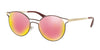 Prada PR62SS Phantos Sunglasses  USH5L2-BORDAUX/PALE GOLD 53-19-140 - Color Map bordeaux