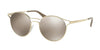 Prada CATWALK PR62SS Phantos Sunglasses  ZVN1C0-PALE GOLD 53-19-140 - Color Map gold