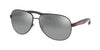 Prada Linea Rossa LIFESTYLE PS53PS Pilot Sunglasses  1AB2F2-BLACK 62-14-135 - Color Map black