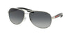 Prada Linea Rossa LIFESTYLE PS53PS Pilot Sunglasses  1BC5W1-STEEL 62-14-135 - Color Map silver