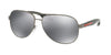 Prada Linea Rossa LIFESTYLE PS53PS Pilot Sunglasses  5AV5L0-GUNMETAL 62-14-135 - Color Map gunmetal