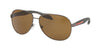 Prada Linea Rossa LIFESTYLE PS53PS Pilot Sunglasses  5AV5Y1-GUNMETAL 62-14-135 - Color Map gunmetal