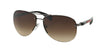 Prada Linea Rossa PS 56MS (65) PS56MS Pilot Sunglasses  5AV6S1-GUNMETAL 62-14-130 - Color Map gunmetal