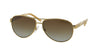 Ralph RA4004 Pilot Sunglasses  101/T5-GOLD/CREAM 59-13-130 - Color Map gold