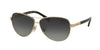 Ralph RA4116 Pilot Sunglasses  3133T3-GOLD/BLACK 60-11-135 - Color Map gold