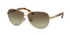 Ralph RA4116 Pilot Sunglasses  31388E-LIGHT GOLD/TOKYO TORTOISE 60-11-135 - Color Map gold