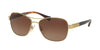 Ralph RA4119 Rectangle Sunglasses  3211T5-GOLD/ STRIATED BROWN 57-16-135 - Color Map gold