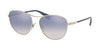 Ralph RA4126 Oval Sunglasses  90017B-SILVER 57-16-140 - Color Map silver
