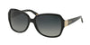 Ralph RA5138 Square Sunglasses  501/T3-BLACK 58-16-135 - Color Map black