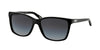 Ralph RA5141 Square Sunglasses  501/11-BLACK 57-15-135 - Color Map black