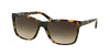 Ralph RA5141 Square Sunglasses  905/13-VINTAGE TORT 57-15-135 - Color Map brown