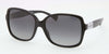 Ralph RA5165 Square Sunglasses  501/T3-BLACK 57-16-135 - Color Map black
