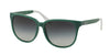 Ralph RA5194 Square Sunglasses  132111-TURQUOISE 57-15-135 - Color Map havana