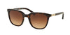 Ralph RA5206 Rectangle Sunglasses  137813-DARK TORTOISE 51-20-135 - Color Map havana