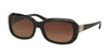 Ralph RA5209 Square Sunglasses  1377T5-BLACK 56-18-135 - Color Map black