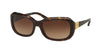 Ralph RA5209 Square Sunglasses  137813-DARK TORTOISE 56-18-135 - Color Map havana