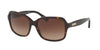 Ralph RA5216 Butterfly Sunglasses  137813-DARK TORTOISE 56-16-135 - Color Map havana