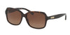 Ralph RA5216 Butterfly Sunglasses  1378T5-DARK TORTOISE 56-16-135 - Color Map havana